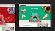 Goupie Product Pages i Pad